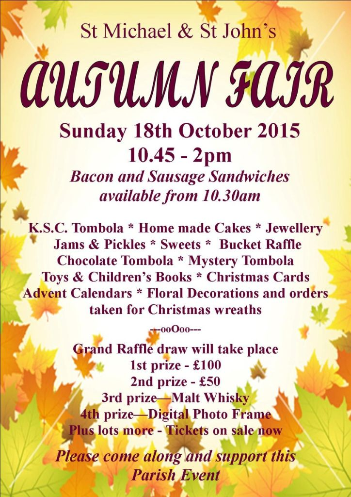 AUTUMN FAIR POSTER