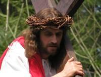 Jesus on the way to Calvary