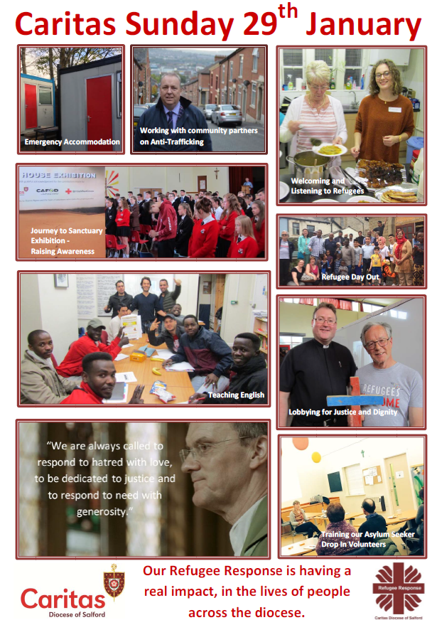 Caritas Sunday 28/29th January