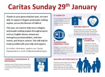 Information leaflet forCaritas Sunday