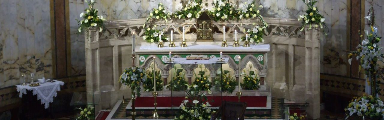 St. Michael & St. John's Altar
